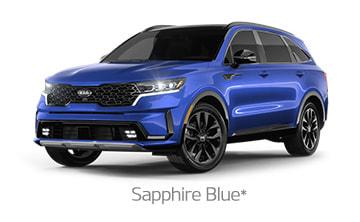 Sapphire Blue*